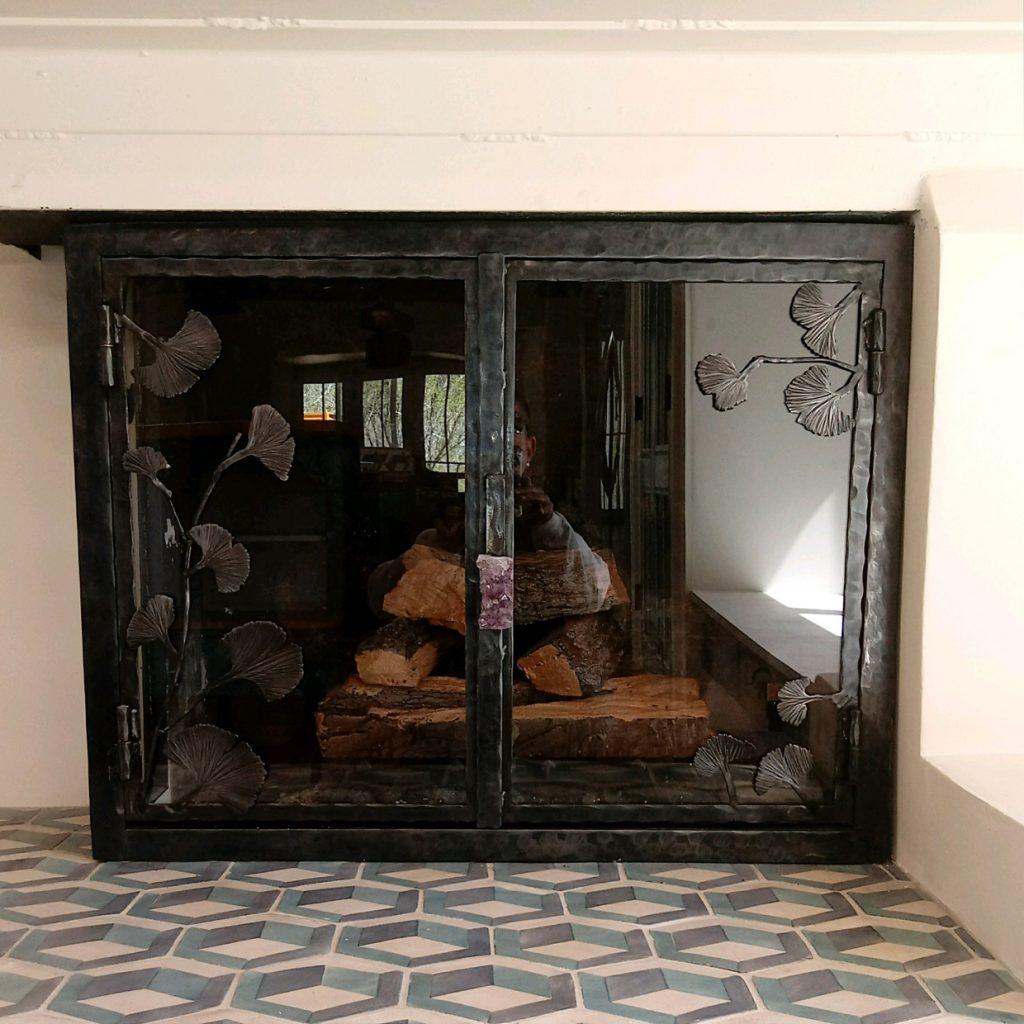 Kiva Fireplace Screens Fireplace Glass Doors